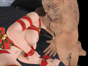 Christmas Pole Squeeze Present Fabulous 3D Hentai Porn Clips